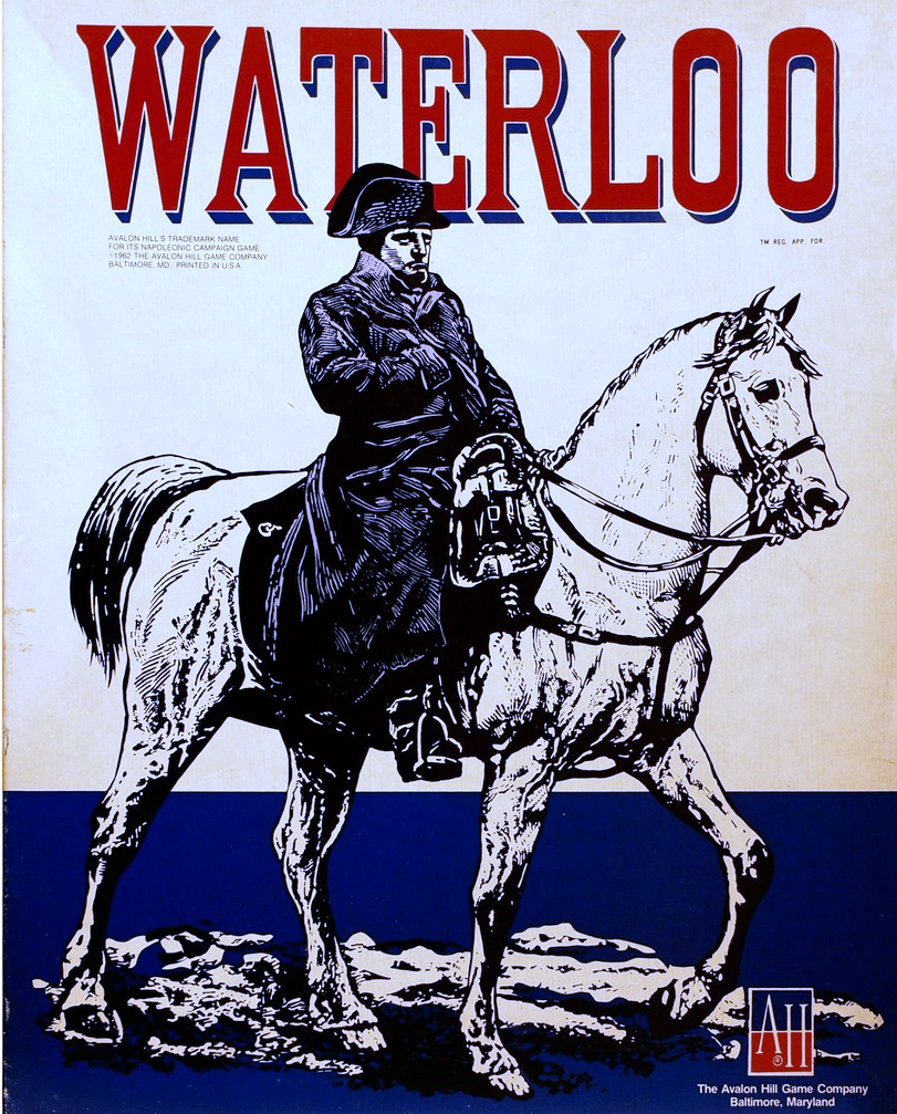 Waterloo Game Box Cover